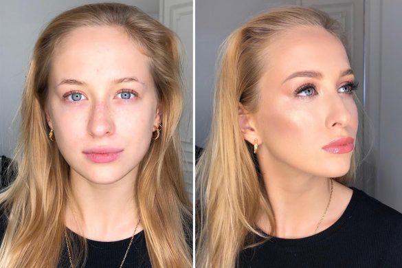 Konturowanie twarzy